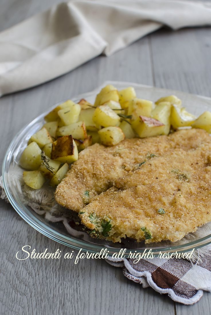 cotolette al forno pollo al prezzemolo leggere facili veloci senza friggere ricetta secondo dieta