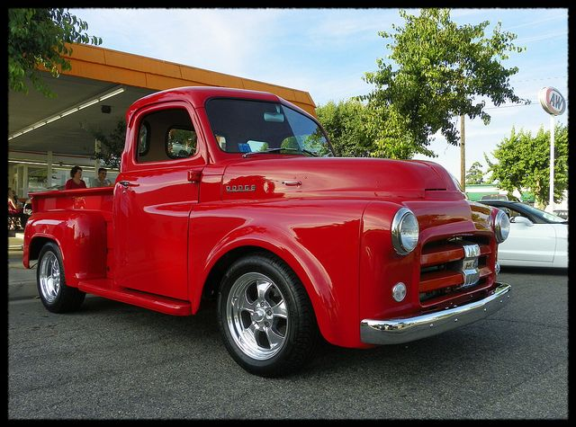 Restore our 1951 Dodge Truck to something like this, but forest green.