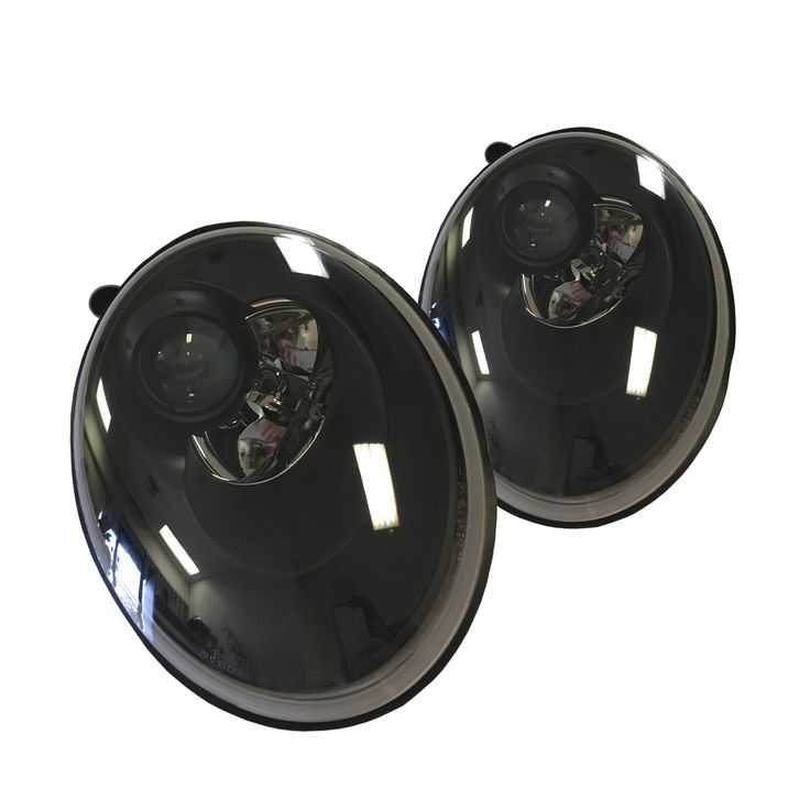 2006-2010 Volkswagen VW Beetle Black Halogen Headlights Set: This is a set of black halogen headlights 06-10… #CarHeadlights #AutoHeadlights