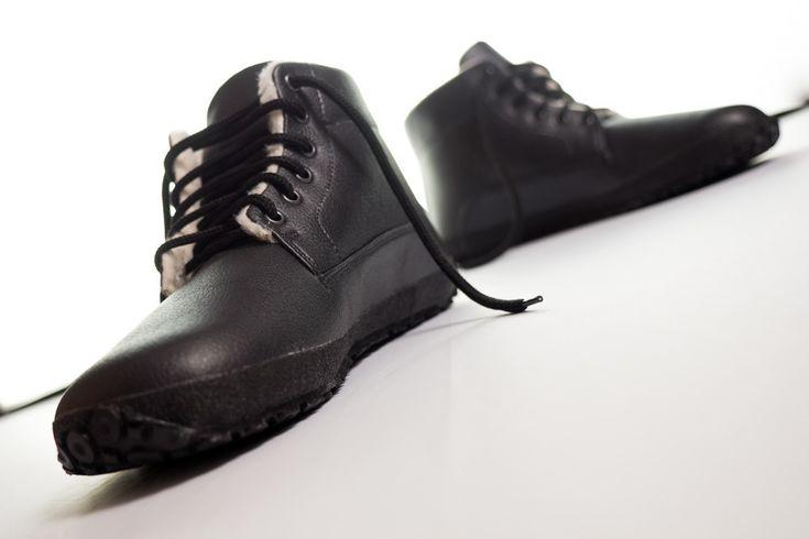 Ahinsa Shoes Winter Sundara black