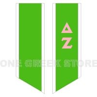 Greek Store Delta Zeta Deluxe Custom Graduation Stole Greek Clothing, Greek Gear, Greek Apparel
