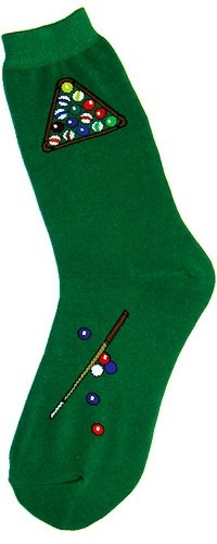 How about a pair of socks to show the world you are a pool player....I want a pair