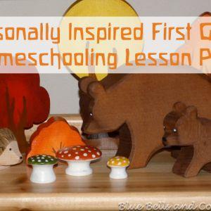 Homeschooling First Grade Lesson Plan – Week 4