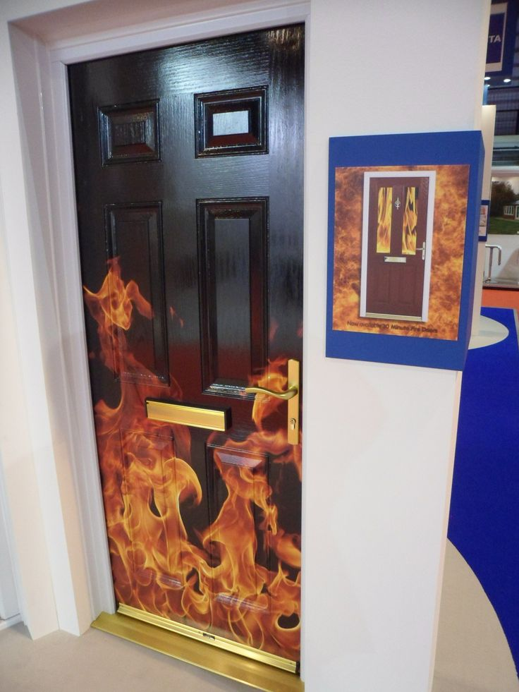 Our FD30 Xtreme Fire Door from FIT Show 2013