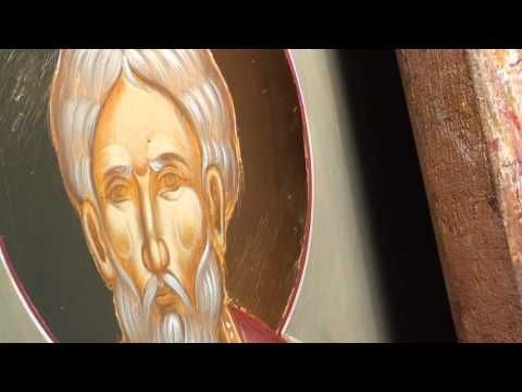 Iconography Tutorial: Painting the face - YouTube