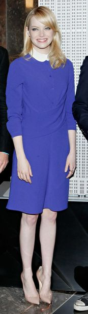 Dress - Carven Shoes - Christian Louboutin Carven Drape-Front Button-Down Dress Christian Louboutin Pigalle