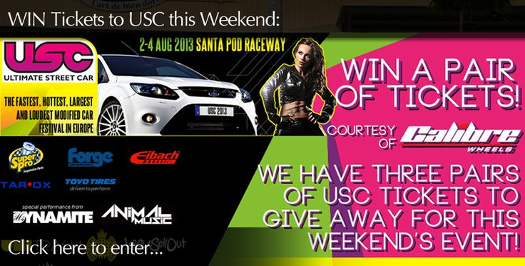 Click here to enter our competition to win USC Show Tickets - http://www.wheelwright.co.uk/USC