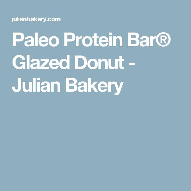 Paleo Protein Bar® Glazed Donut - Julian Bakery