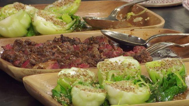 Yakiniku, grillat kött på japanskt vis.