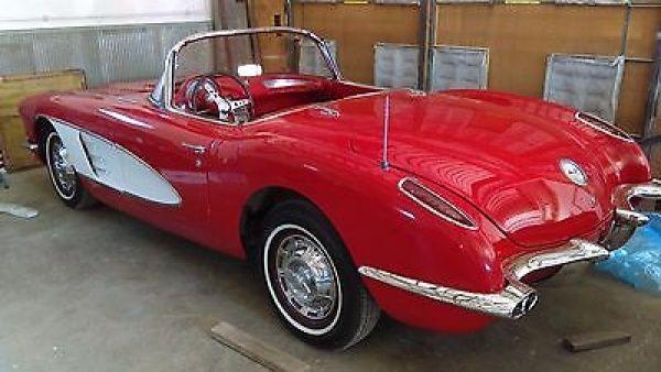 Chevrolet: Corvette 1959 chevrolet corvette
