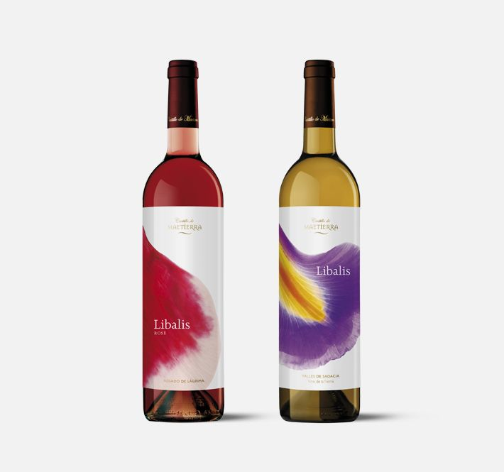 castillo de maetierra - moruba  Line of packaging for the most aromatic white wines from the Valles de Sadacia