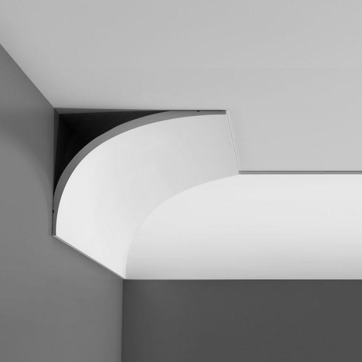 Cornice Soffitto C991 Le cornici in poliuretano Orac Decor sono distribuite da Bianchi Lecco in Italia. Tanti modelli per accogliere luci a LED o luci al NEON per illuminazione indiretta.