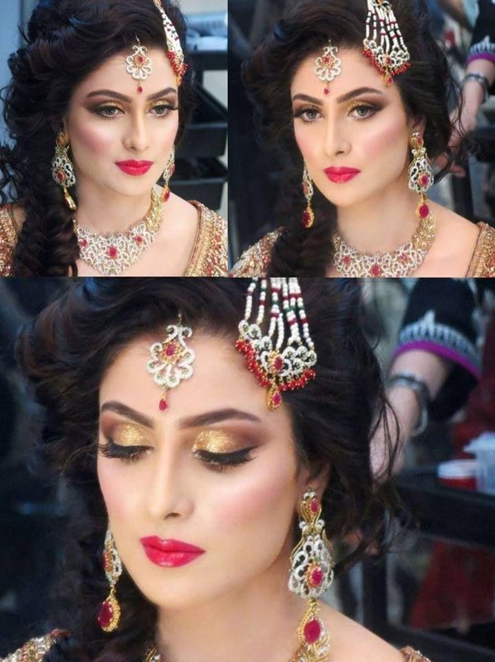 Another Super Stunning Bride Done By Natasha Salon #iHeartNatasha Ufe0f | Love Natasha Salon ...