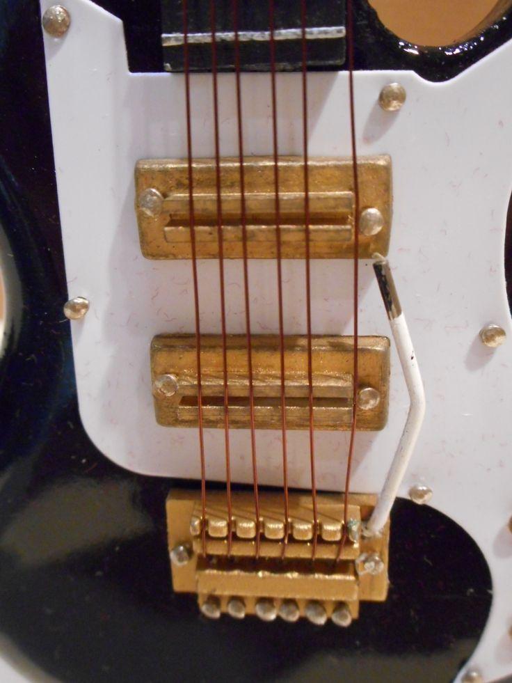 Ηλεκτρική κιθάρα (λεπτομέρεια).