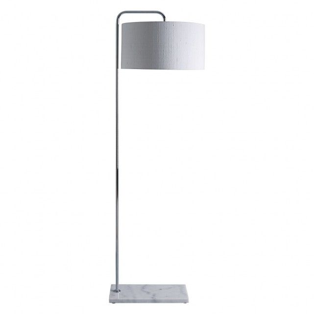 The Marbelle Silver Metal And Marble Lamp Has A Timeless Luxe Quality And Offers A Refreshing Alternative To The Classic F Classic Floor Lamps Lamp Marble Lamp