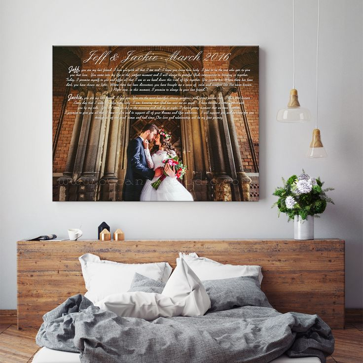 Custom Canvas Wall Art 130 best anniversary gift ideas images on pinterest | anniversary