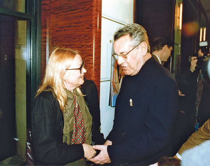 jana brejchova with her first husband milos forman