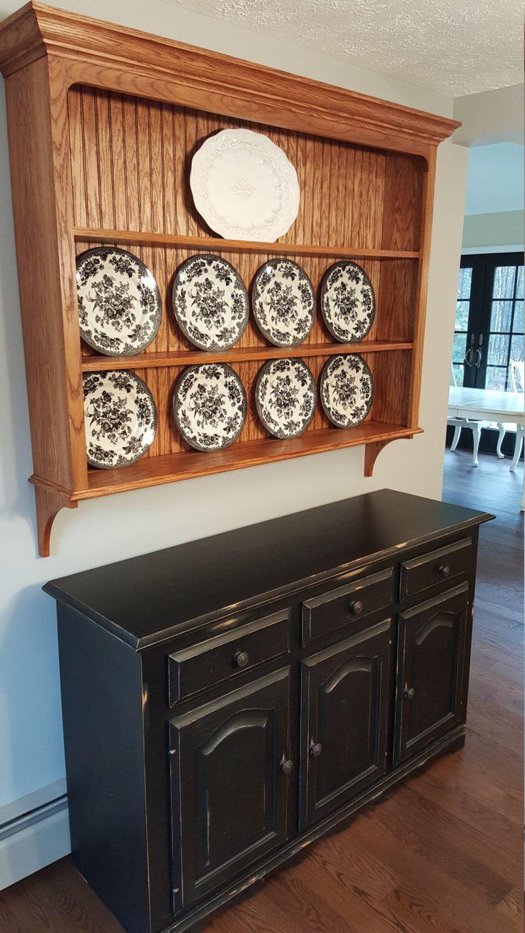 Stylecraft cabinets - Oak China Plate Display Rack By Lyonswoodworkingllc On Etsy Https Www Etsy