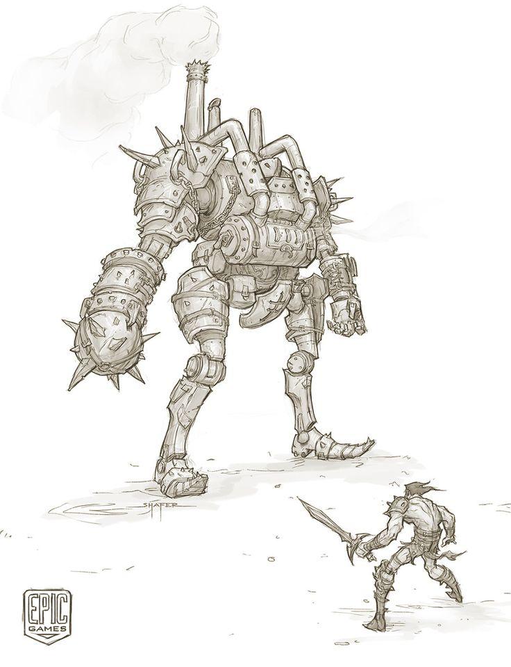 Character Design Unreal Engine : Https artstation artwork zwk engineer