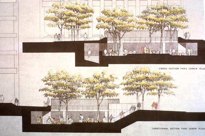 Crocker Plaza | PWP Landscape Architecture