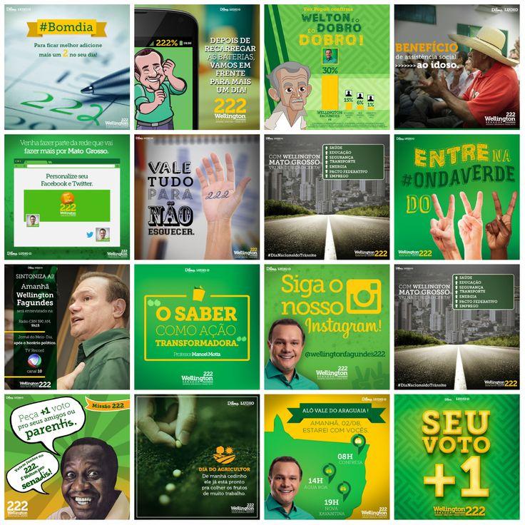 CAMPANHA ELEITORAL - SENADOR WELLINGTON FAGUNDES - FB on Behance