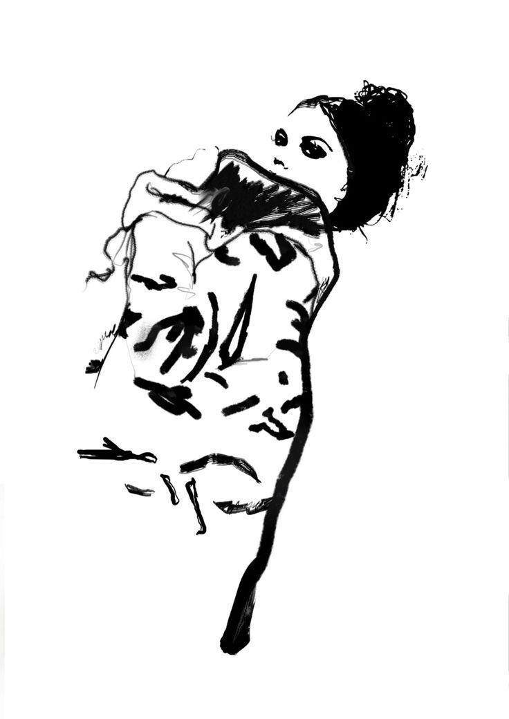 shu84: Judith van den Hoek Fashion Illustrations