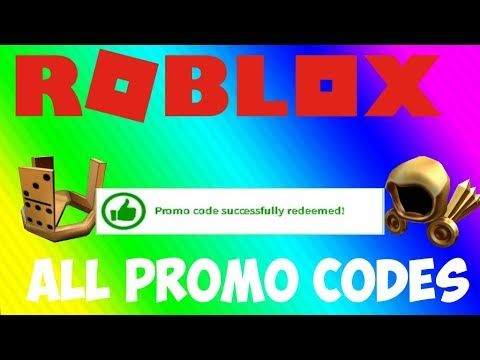 ROBLOX : ALL PROMO CODES! (FREE HATS) (2018) | ROBLOX