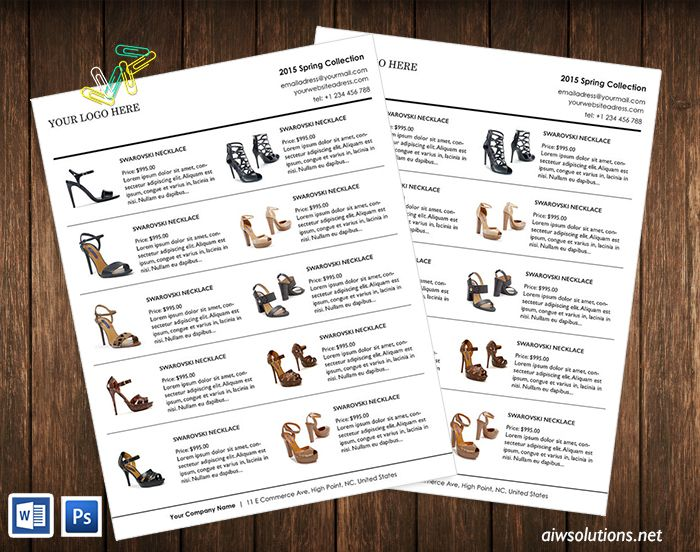 7 best Line Sheet Examples images on Pinterest Product brochure - sample line sheet template