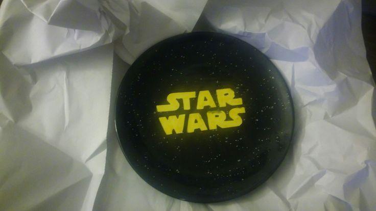 Star wars decor plate.