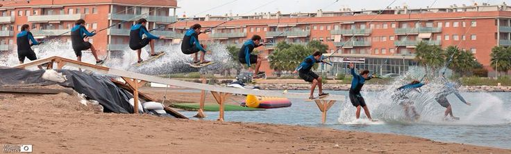 Luis Montana over the rail at CWP
