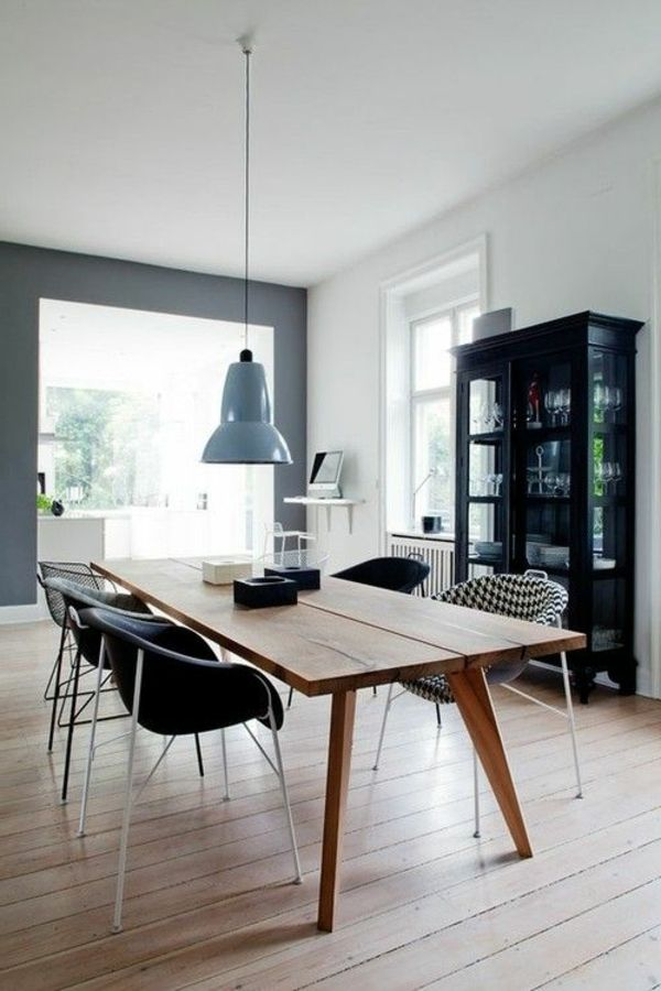 des ides dco pour votre salle manger une salle manger moderne - Idee Deco Salle A Manger Moderne