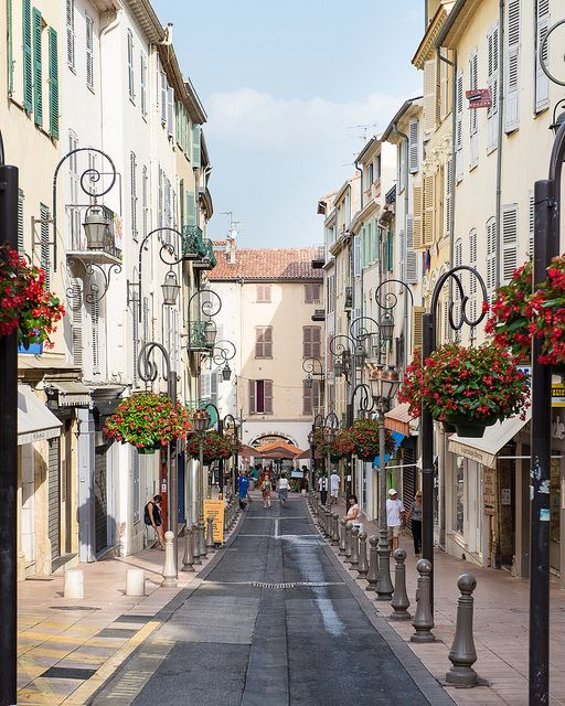 Antibes before the crowds arrive, France. (one month until i'm on these lovely streets!)