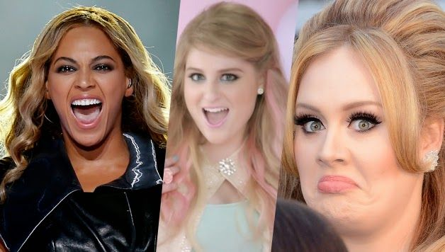 Adele Y Beyonce rechazaron All About That Bass de Meghan Trainor | Zona Pop Peru