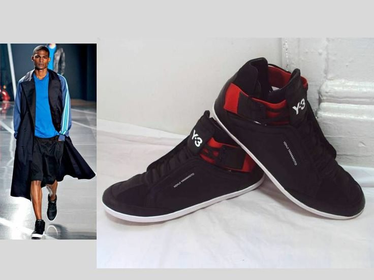 mens adidas y3 yohji yamamoto trainers