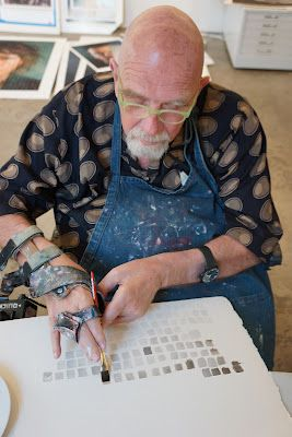 Magnolia Editions Blog: Chuck Close: Problems & Process