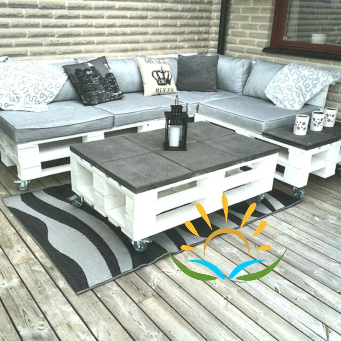 56 Ideas And Pictures About Pallet Furniture Terrace