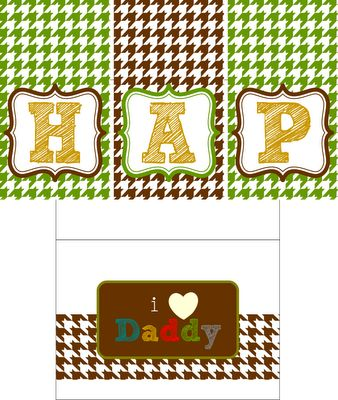 {free printables} Happy Father's Day
