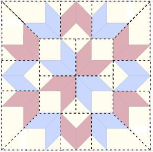 Free Primitive Star Quilt Pattern   Lone Star Quilt Patterns – Sewing Solutions including free sewing