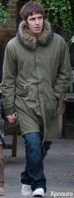 Liam Gallagher Green Parka