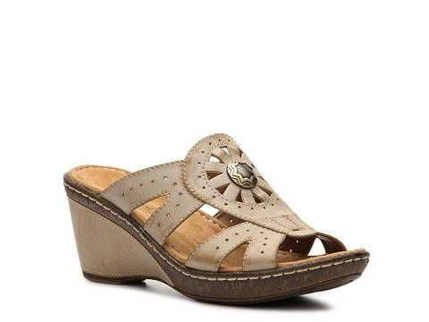 Natural Soul by Naturalizer Hearst Wedge Sandal Sandals ...