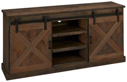 "Legends Furniture-Farmhouse-Legends Furniture Farmhouse 66"" Console - Jordan's Furniture"
