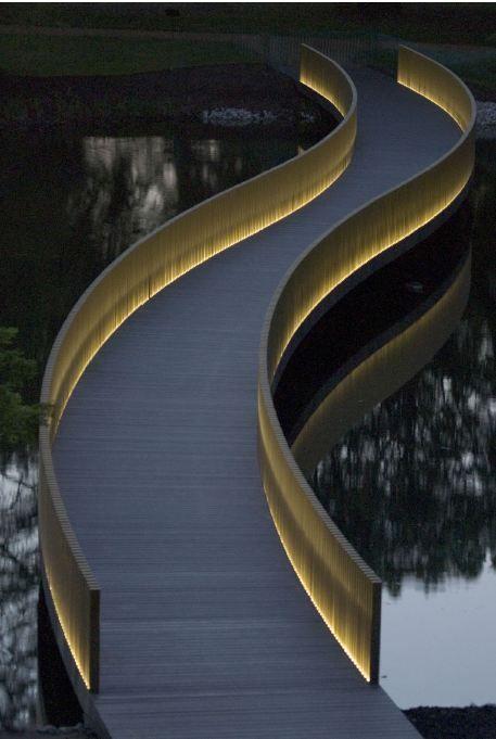 John Pawson Sackler Crossing, Royal Botanic Gardens, Kew, London, 2004 – 2006.