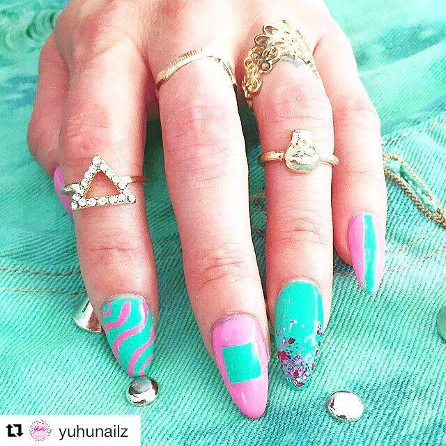 @yuhunailz is Back!!  OPEN SEASON at #yuhustore #barcelona #elborn  Booking NOW! #nailart #acrylicnails #nailartdesign #instacool #instafresh #instafashion #style #manicure #nails #nailswag #fashion #fresh #manicura #costabrava #girona #platjadaro