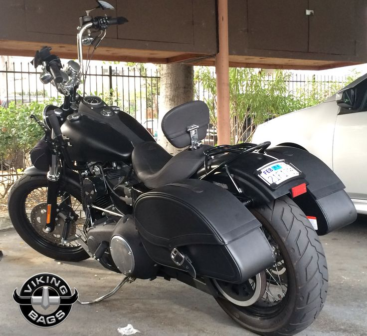 Check Out Gabe S Harley Dyna Street Bob Rocking A Pair