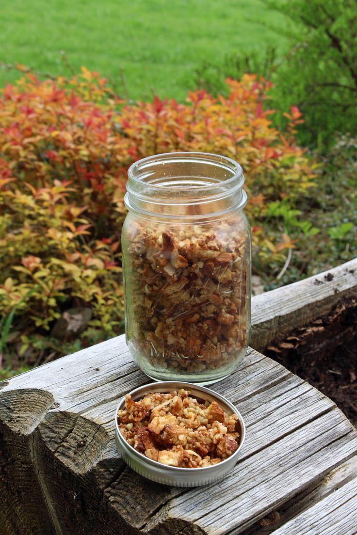 Rezept: Buchweizen-Granola Apfel-Zimt (glutenfrei & zuckerfrei)   Projekt: Gesund leben   Clean Eating, Fitness & Entspannung