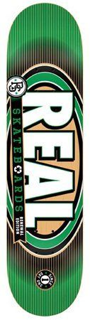 Real Logo Board Renewal 4 Green 7.75 Skateboard Deck by Real. $34.99. Brand New, Top Quality Real Skateboard Deck