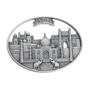 Magnet with an imprint of India Metal Magnet - India.#mothersdaysale