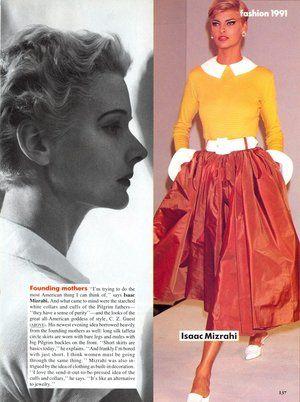Vogue (US) January 1991 | Fashion 1991