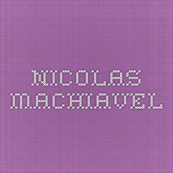 Nicolas MACHIAVEL DISCOURS SUR LA PREMIÈRE DÉCADE DE TITE-LIVE