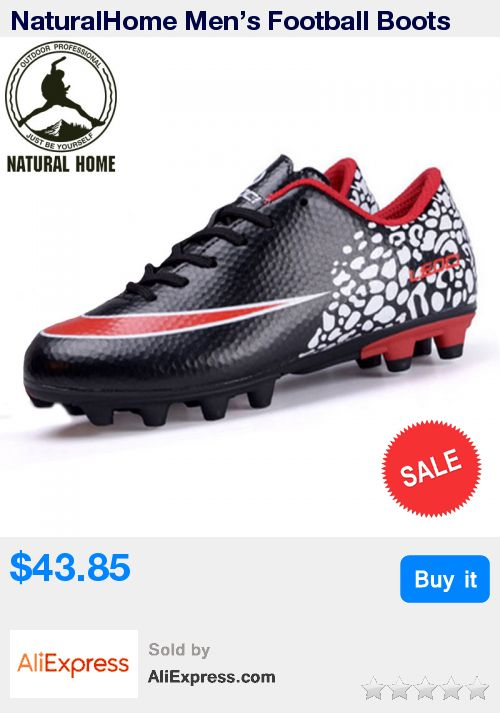 NaturalHome Men's Football Boots Soccer Cleats Athletic Shoes Boots Man Sports Professional Soccer Shoes Size 33-44 * Pub Date: 03:47 Apr 12 2017